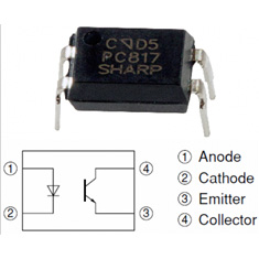 10 PCs. PC817 1-channel transistor output ...