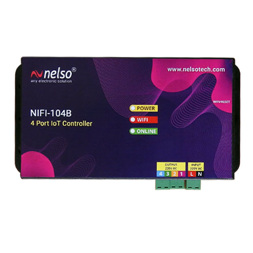 NIFI-104B 4 Port IoT Controller(WiFi)