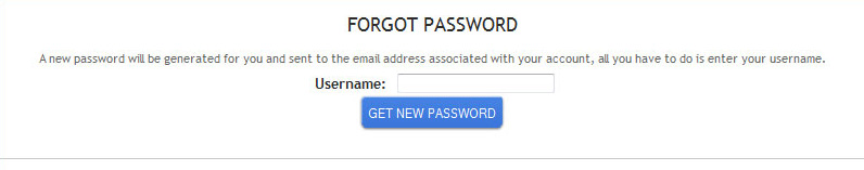 Regenerate password