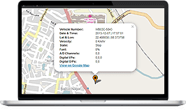 Online Vehicle Tracker