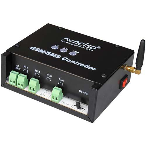 SMS or GSM Based Pump Motor Controller